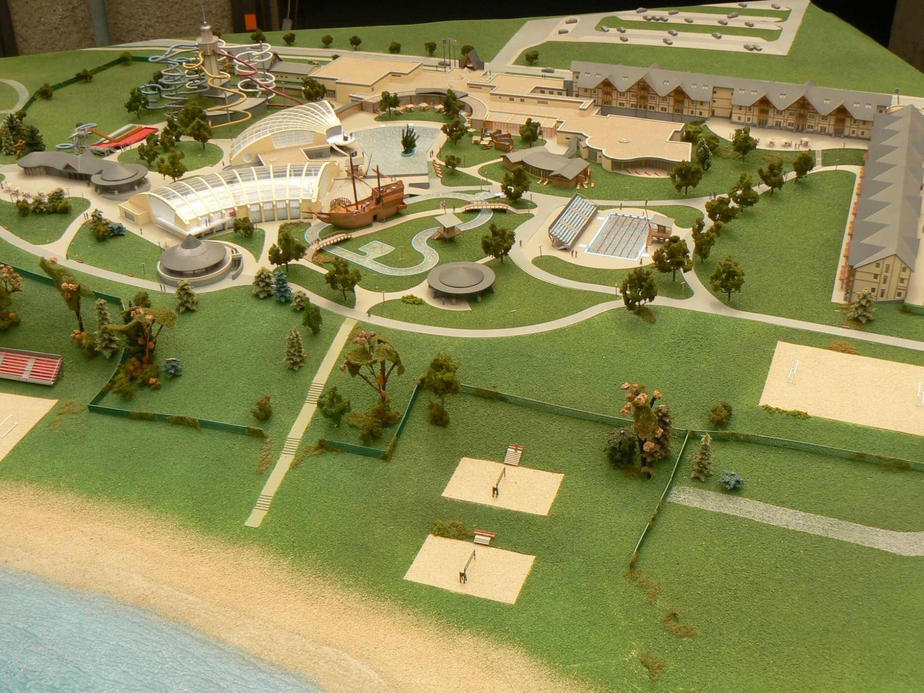 Realizace aquaparku Gino Paradise Tbilisi v daleké Gruzii zahájena