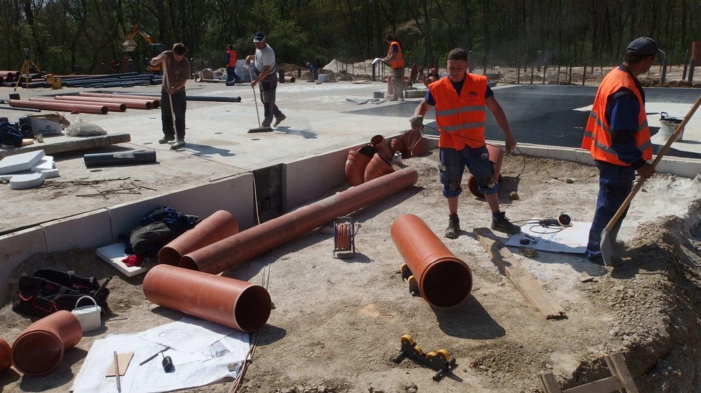 Revitalizace areálu Thermalpark Nitrava (6. etapa)